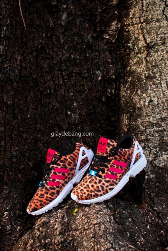 "adidas ZX Flux ""Leopard"""