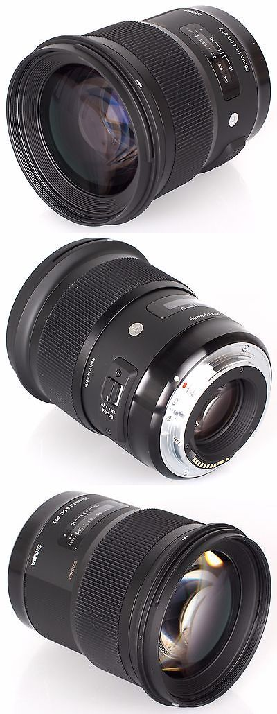 photo and video: Sigma 50Mm F 1.4 Dg Hsm Art Lens For Canon Ef 311101 -> BUY IT NOW ONLY: $730.37 on eBay!