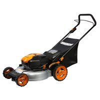 56-Volt 19-in Cordless Electric Push Mower (WG772)