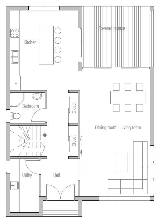 House Plan Modern To Family