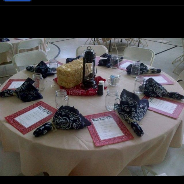 Western Table Decorations | Table decor
