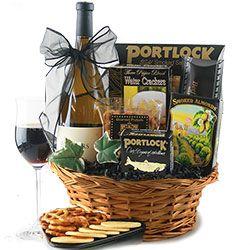 9 best Wine Gift Baskets images on Pinterest | Wine gift baskets ...