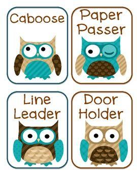 owl classroom theme | ... to the Half Hour - Cookie theme - Maddie B - TeachersPayTeachers.com