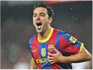 Xavi Hernández - the visionary, the playmaker.