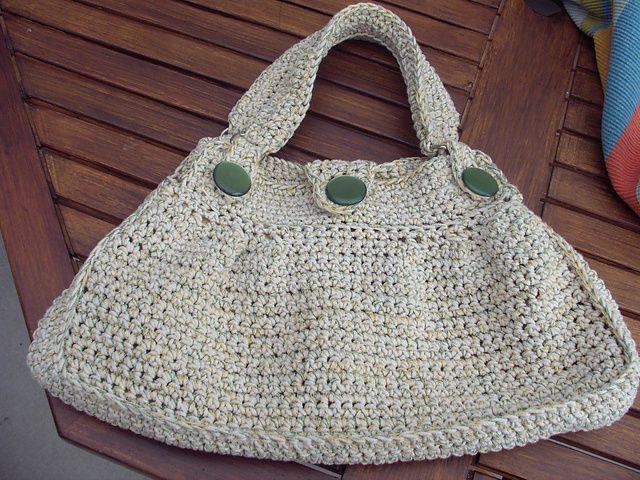 Ravelry: Crochet padrão Handbag por Drew Emborsky