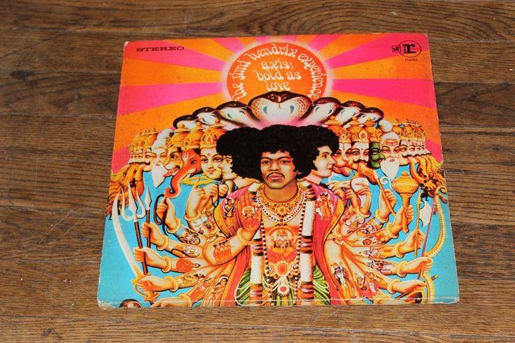 Jimi Hendrix Experience – Axis: Bold As Love LP Vinyl Gatefold w/ Bio comic