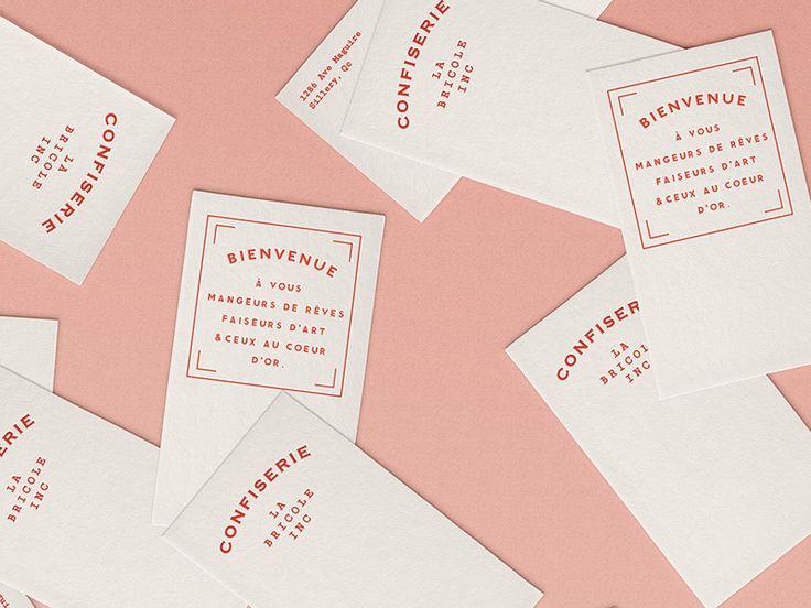 La Confiserie #design #branding