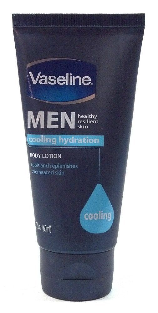 Vaseline Men Healthy Resilient Skin Cooling Hydration Travel Size Body Lotion 2 Oz Each Bulk (6 Pack) ** Click image for more details. (This is an Amazon Affiliate link and I receive a commission for the sales)