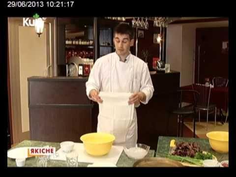 Осетинские пироги от Аслана Абаева - YouTube