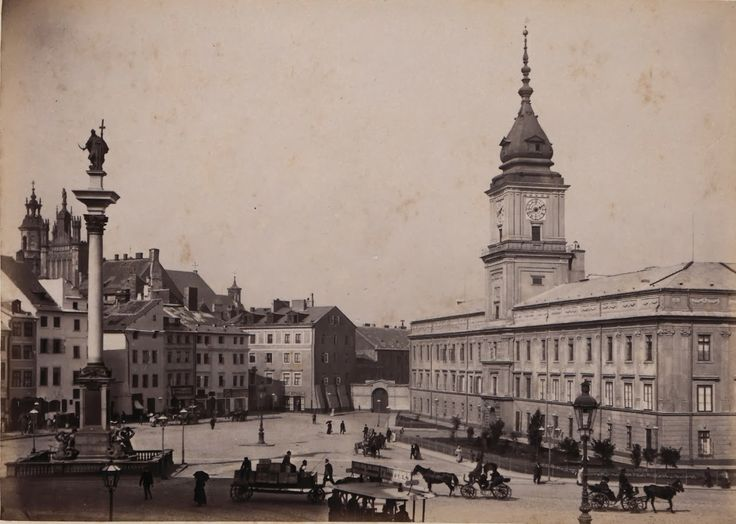Pictures of Warsaw in the Late 19th Century