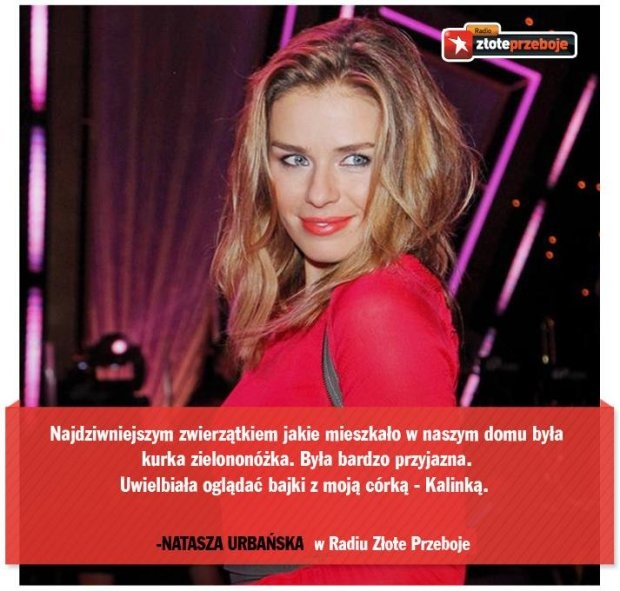 Natasza Urbańska, wokalistka i aktorka