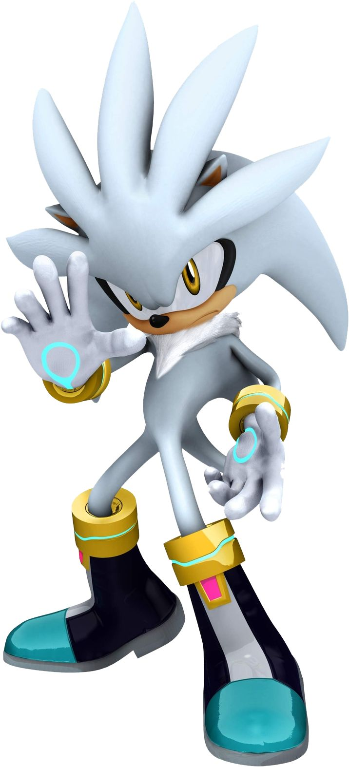 Super Silver The Hedgehog   Todos los renders de Sonic - Taringa!