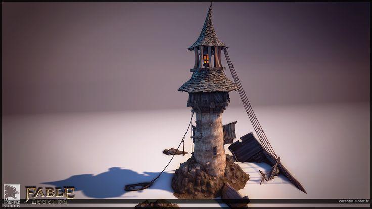 ArtStation - Fable Legends Last Night Assets, Corentin Sibret