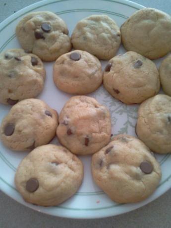 Almond Chocolate Chip Cookies No Baking Powder Soda