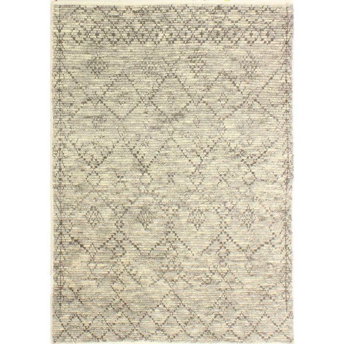 Floressa Southwestern Hand Knotted Wool Medium Gray Dark Gray Area Rug Area Rugs Grey Area Rug Rugs
