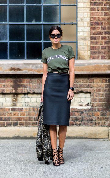 Hottest: So stylst du Statement-Shirts   jetzt auf www.instyle.de   InStyle Germany / Deutschland                                                                                                                                                                                 Mehr