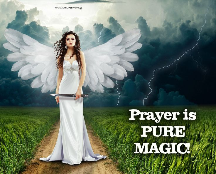 Magical Recipies Online | How to Contact your Guardian Angel