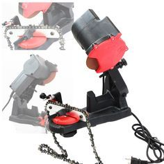 ELECTRIC GRINDER CHAIN SAW BENCH SHARPENER VISE MOUNT W/GRIND CHAINSAW WHEEL * You can get additional details at the image link.