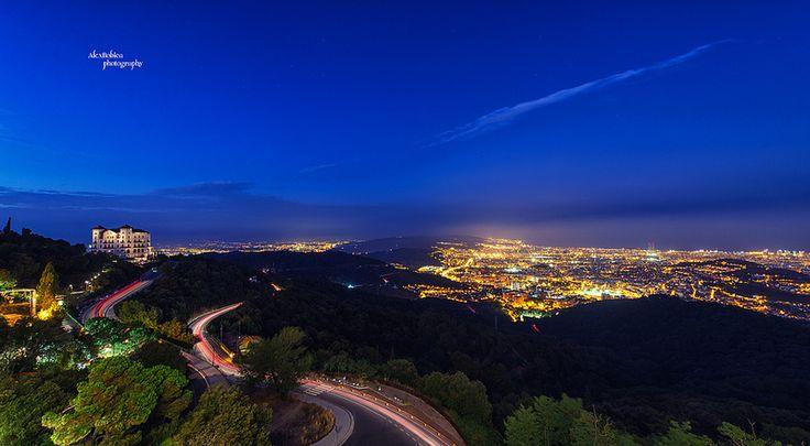 Tibidabo, Spain - #Tibidabo, #Spain, #Barcelona, #AlexBobicaPhotography