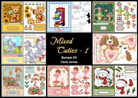 Mixed Cuties 1 Bumper Kit