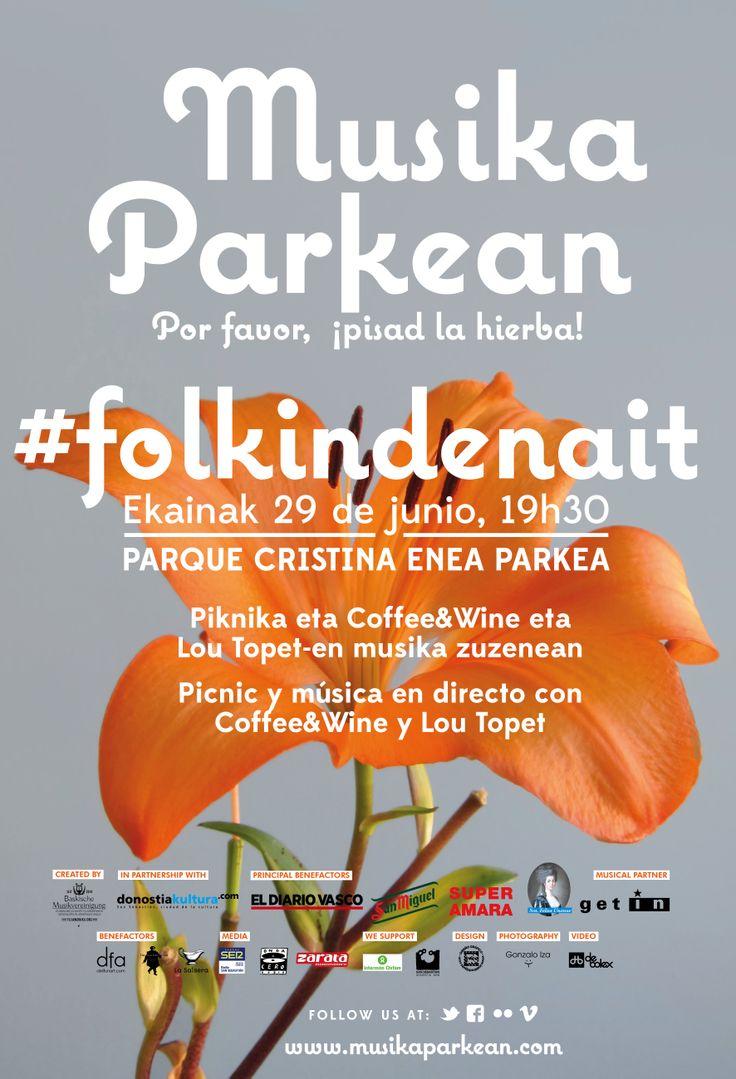 Musika Parkean XVIII - 29.06.2013, Parque Cristina-Enea parkea