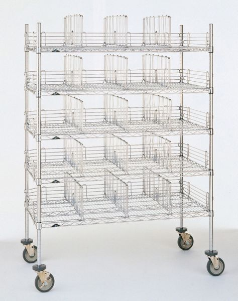 Mobile Garment Storage Rack