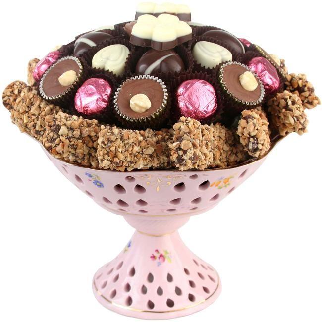 Pink Chocolate Centerpiece Gift $49.95