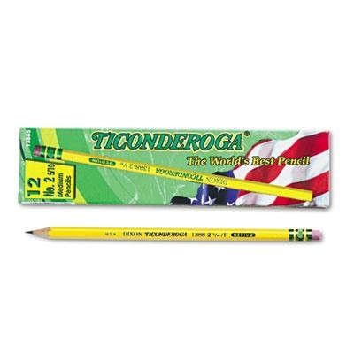13885 No.2 5/10 Medium Ticonderoga Pencils