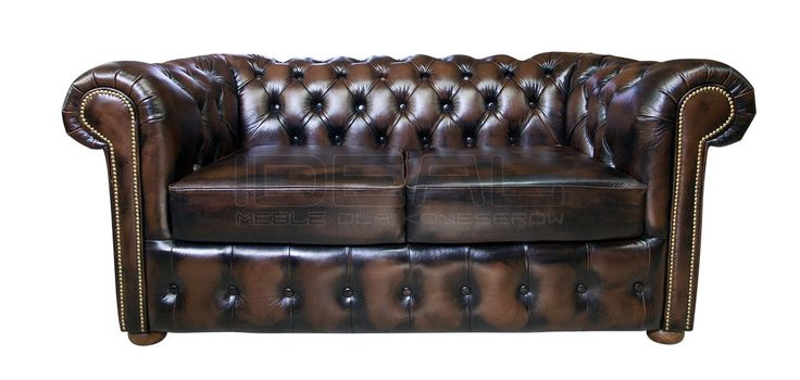 Sofy Stylowe - Sofa Chesterfield Vintage - Ideal Meble