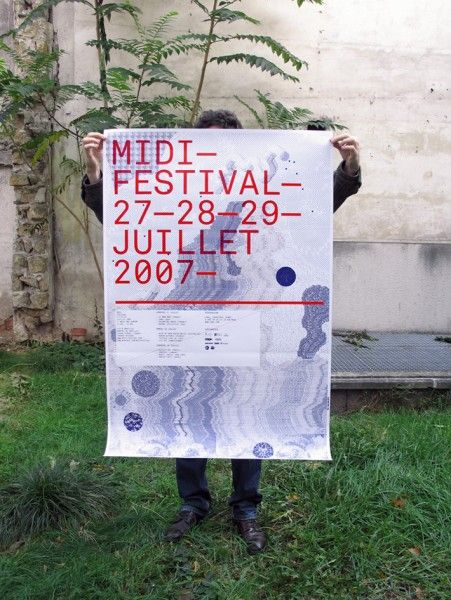 midi festival - graphic design - Frédéric Teschner Studio