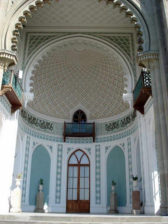 Vorontsov's palace in Alupka, Crimea