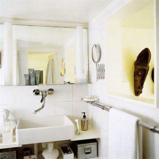 Les 80 meilleures images propos de sdb sur pinterest magazine style vintage coiffeuses et for Salle de bain 2m2