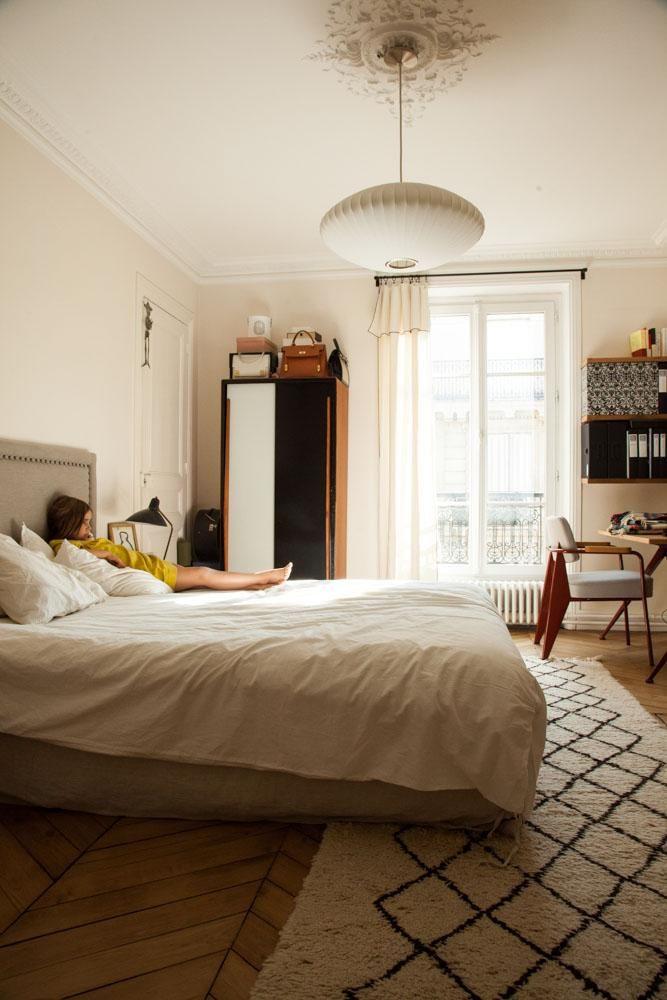 Chambre Parentale Appartement Pierre Le Ny Emilie Urbansky Paris