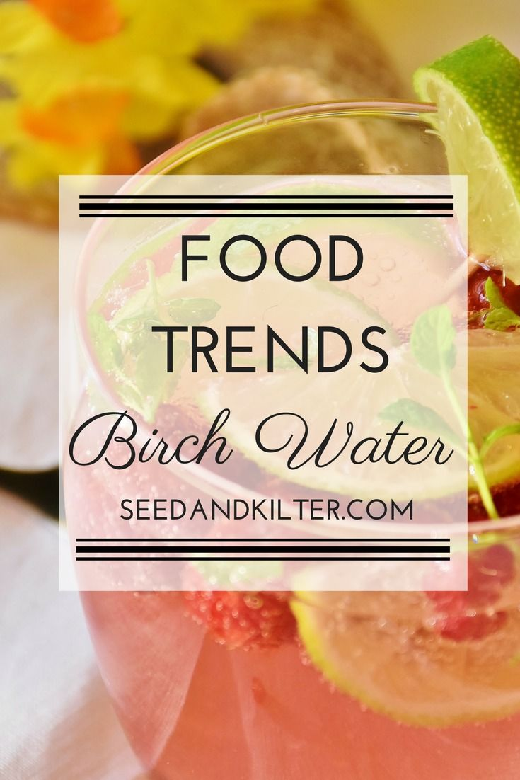 Move over kale and coconut water – there are some new food trends ready to take centre stage this year. This week we are looking at… Birch Water What is it? Like it's coconut water cousin, birch water is a type of plant water. It is made from the sap of birch trees, where the trees are... Read More