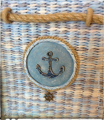 Поделка изделие Плетение Хиты сезона Сундук и мой вариант плетеного дна Трубочки бумажные фото 12