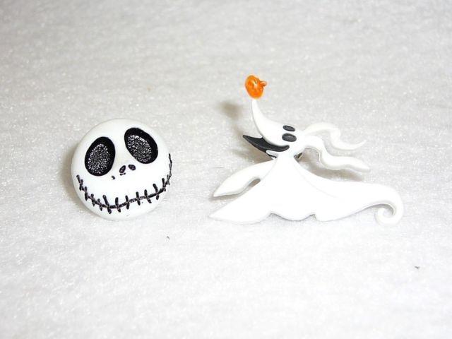 Disney's Jack Skeleton And Zero Ghost Dog Earrings | eBay
