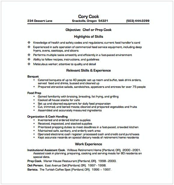 The 25+ best Sample resume templates ideas on Pinterest Sample - sample resume for a chef