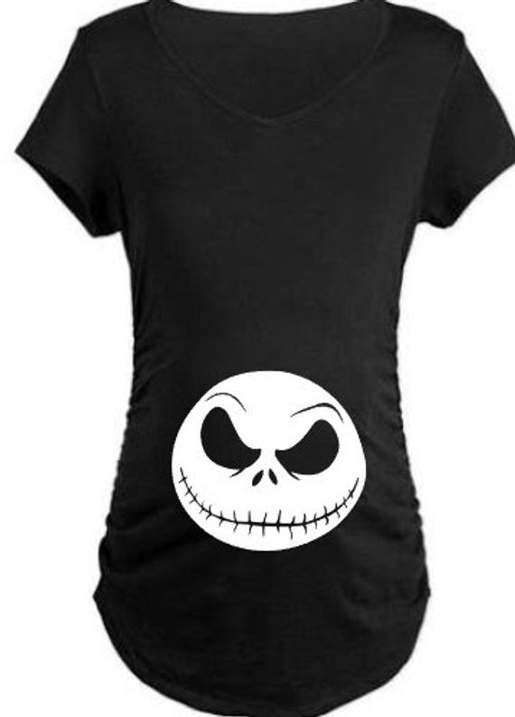 Nightmare Before Christmas Inspired NEW T-Shirt Jack Skellington Face