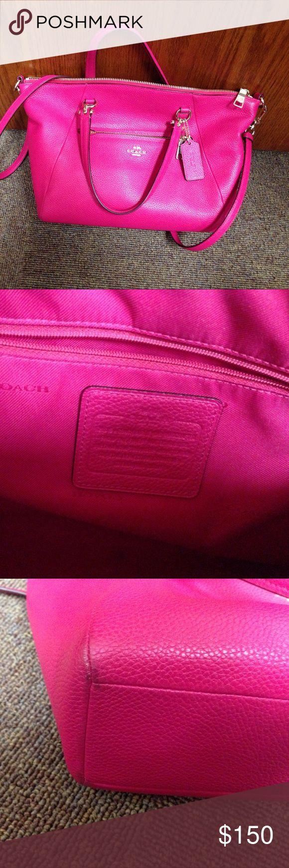 Coach Purse Bright pink Coach Bags Shoulder Bags