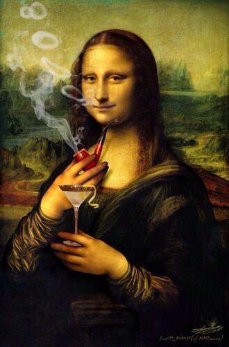 Pin On Mona Lisa Art