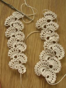 How to: Crochet lace swatching #crochet #lace #crochetlace