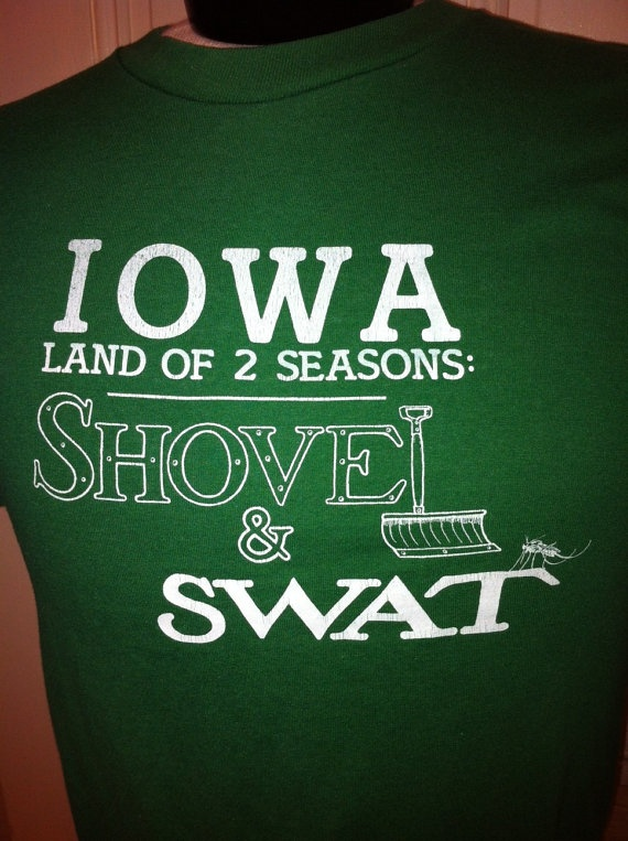 Iowa Land of 2 Seasons Shovel & Swat