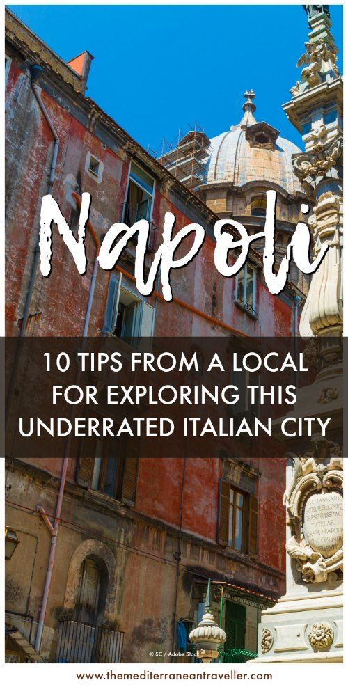 Want to know the best tips for exploring the underrated Italian city of Naples? We get off the beaten track to chat with Napoli native and blogger Travelling Dany about her hometown in the south of Italy to discover the legend of the egg castle, the best local food to try, and how to order your coffee in this hidden gem. #naples #italy #europe