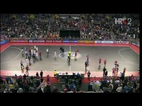Spain - Russia 3:1 (1:1) Euro Futsal 2012