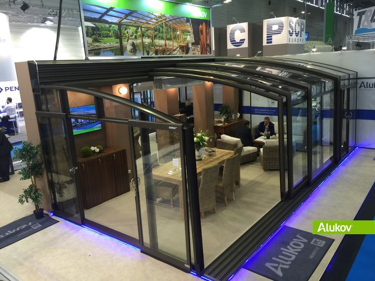 Aquanale 2015 - Germany http://www.patio-enclosures-blog.com/2015/11/aquanale-2015-patio-enclosures.html