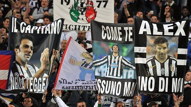 Curva Sud juventus stadium! GRAZIE DI TUTTO ALEX! #DelPiero Sempre al tuo fianco Capitano!