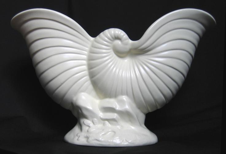 Nautilus Vase. Beautiful shell form.
