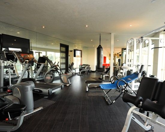 Superieur Home Gym Design, Pictures, Remodel, Decor And Ideas   Page 14
