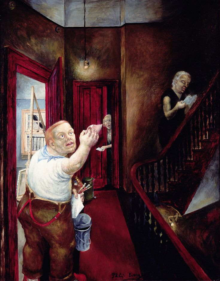 The Pink Dismissal Slip, 1937, Philip Evergood. American (1901 - 1973)