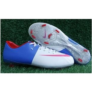 ... www.asneakers4u.com Nike Mercurial Vapor VIII FG White Blue Red Firm  Gound Nike 1e4b14436